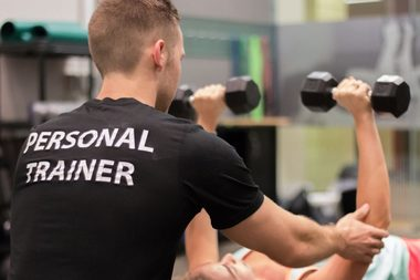 new year new you its a phrase that helps make personal trainers january extremely busy everyone is out to better themselves in january because they